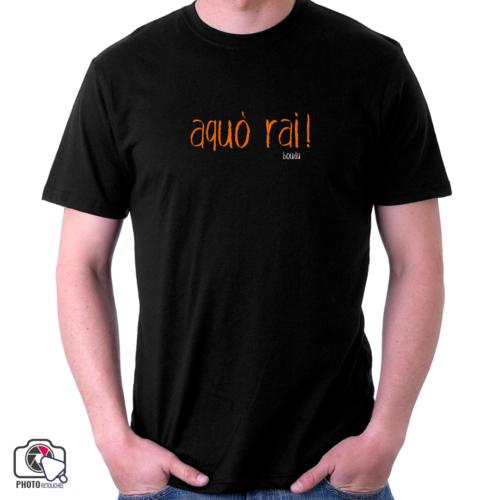 """t-shirt boudu homme """"aquo rai"""""""