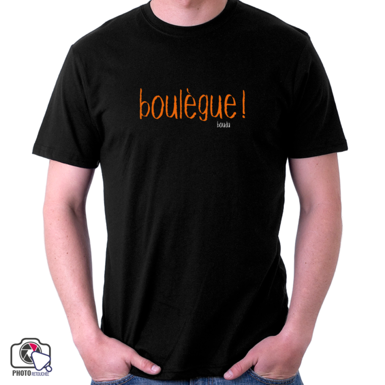 "T-shirt boudu Homme ""boulègue"""