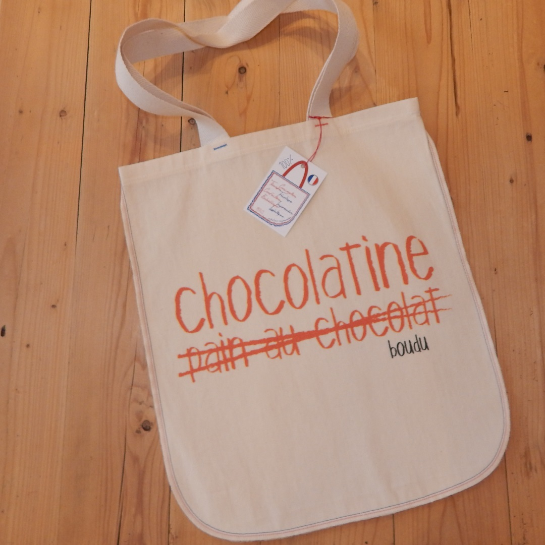 "Sac ""chocolatine pain au chocolat"""