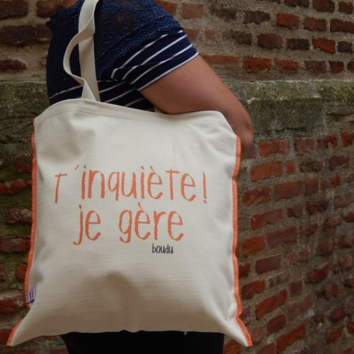 "sac shopping ""t inquiete je gere"""