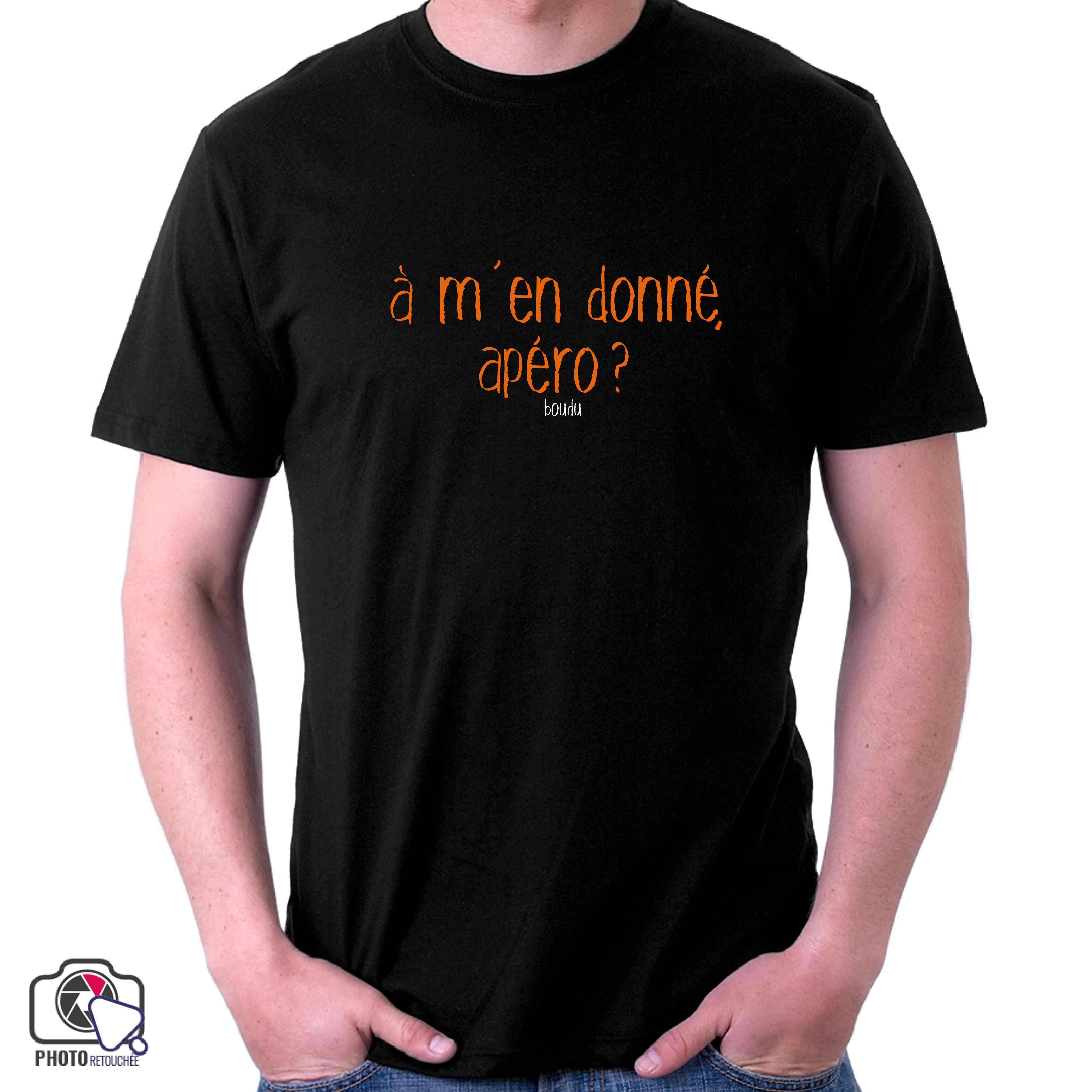 """T-shirt """"à m"""