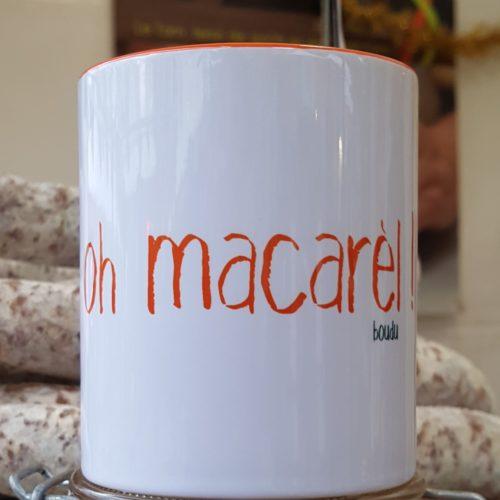 """tasse boudu """"oh macarel"""""""