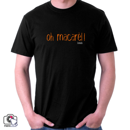 "t-shirt homme ""oh macarel"""