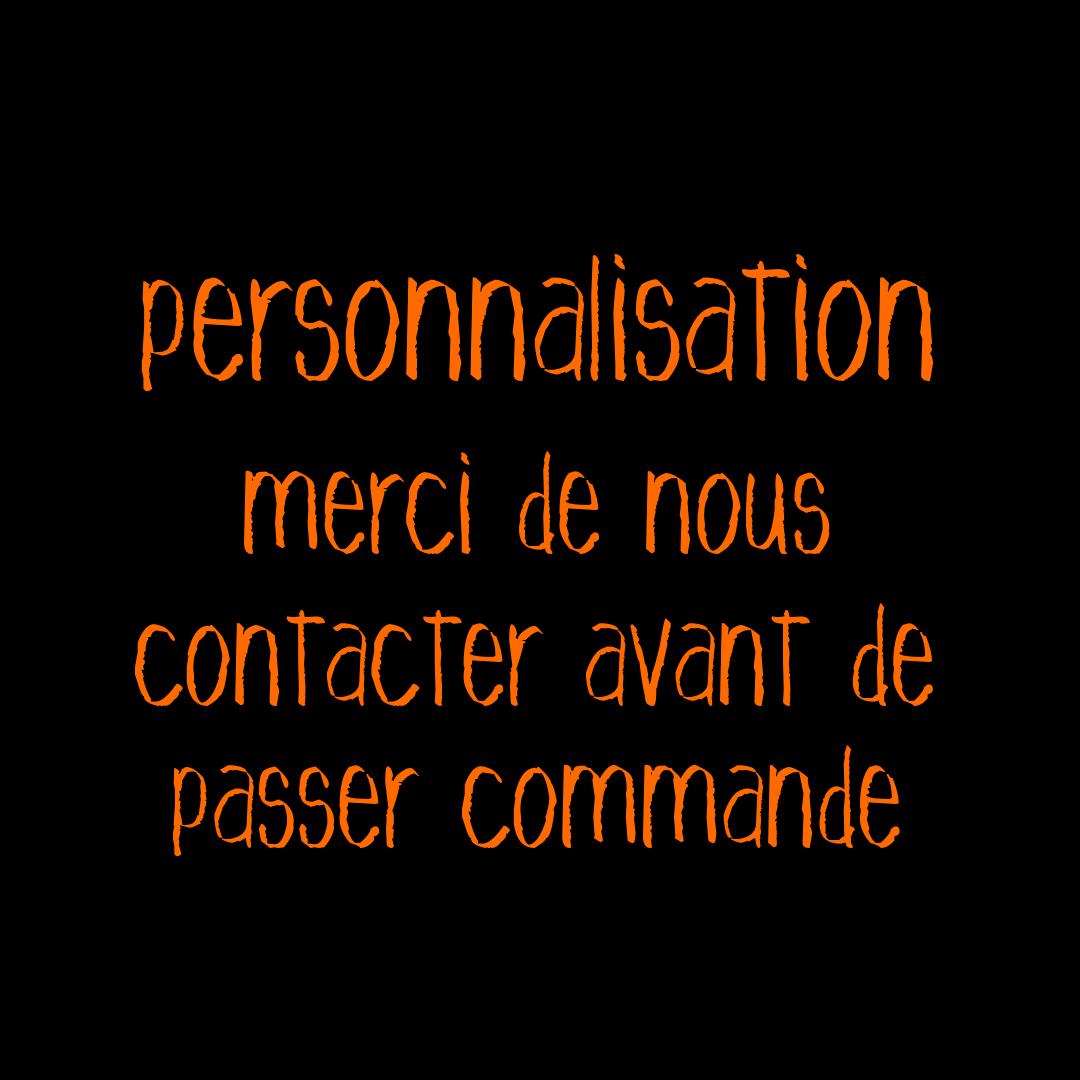 "T-shirt ""personnalisation"""
