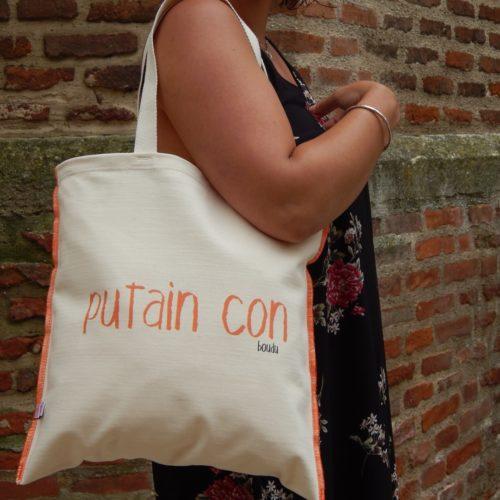 """sac shopping """"putain con"""""""