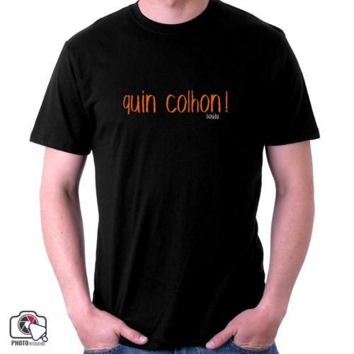 """t-shirt homme boudu """"quin colhon"""""""