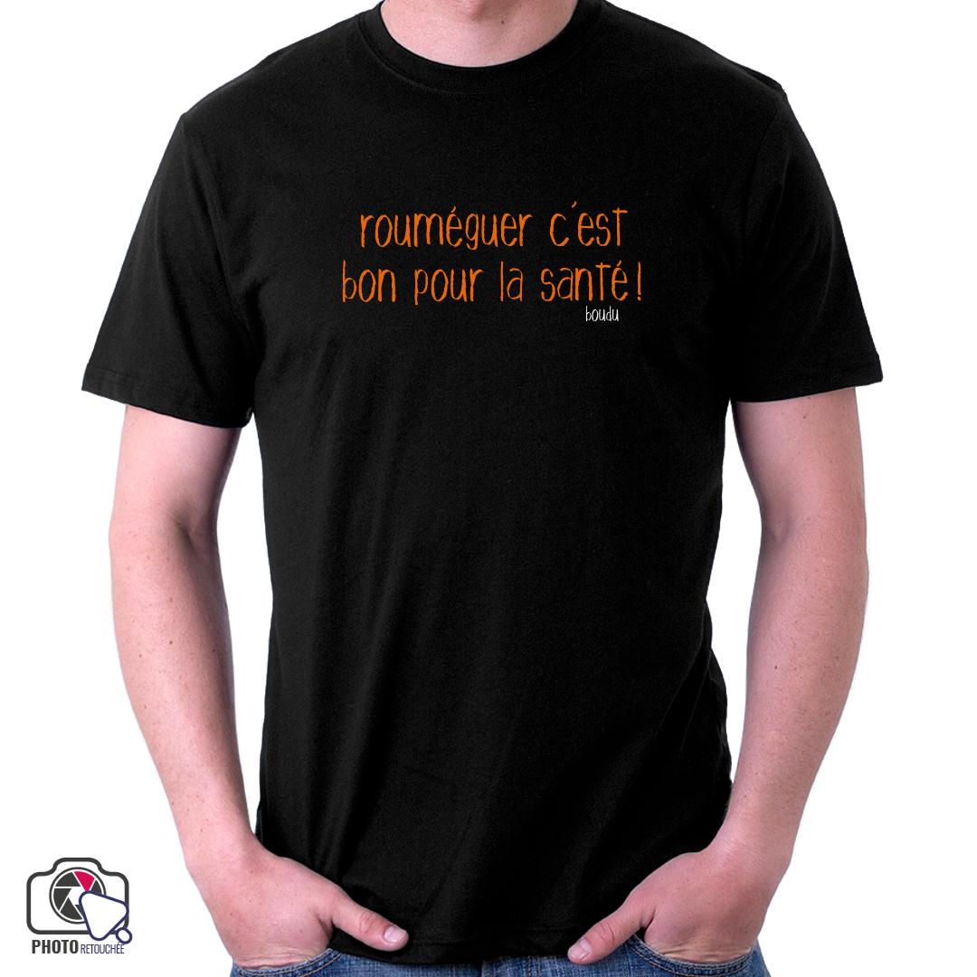 "T-shirt ""rouméguer c"