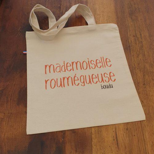 sac shopping boudu mademoiselle roumégueuse
