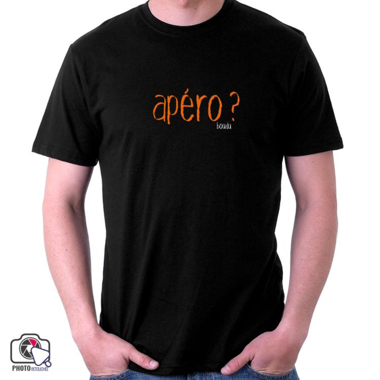 "t-shirt homme ""apéro"""