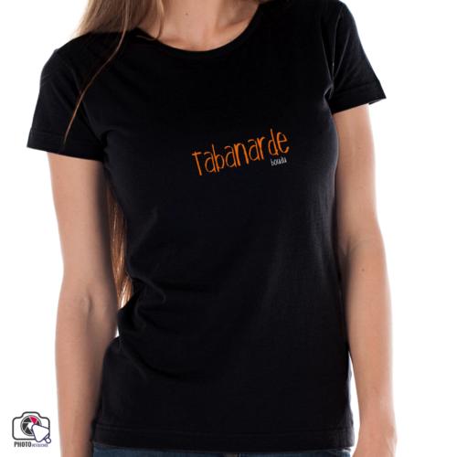 "T-shirt boudu femme ""tabanarde"""